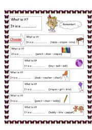 English Worksheets: language structure