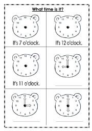 worksheets time what time is it what time is it