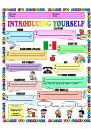 English Exercises: GREETINGS AND FAREWELLS