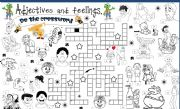 English Worksheets: adjectives and feelings