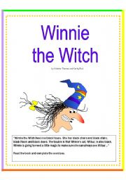Winnie the Witch - reading comprehension