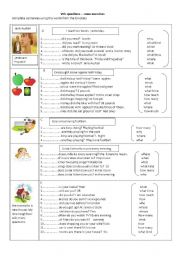 English Worksheets: Wh-questions - some exercises