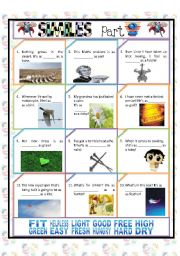 English Worksheet: SIMILES PART 2/4