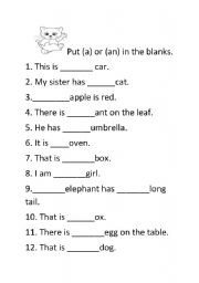 English worksheets: the Articles worksheets, page 113