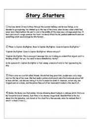 Sentence Starters for Kindergarten and 1st Grade| The Senses