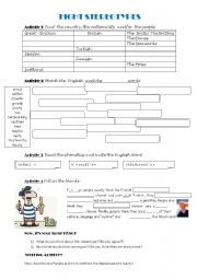 English Worksheet: Fight Stereotypes (key included)