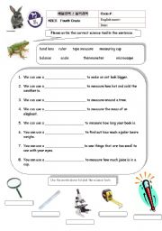 Worksheets Tools Of Science Worksheet english worksheet science tools