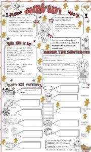 English Worksheet: Some-any