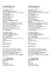 English Worksheets: The Climb- Miley Cyrus