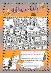 Halloween City: directions