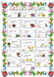 English Worksheets: This-that-these-those
