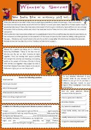 Winnie Witch - Halloween reading