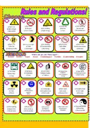 English Worksheets: Signs and Symbols!!!