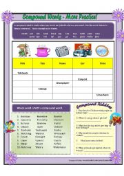 Compound Words 2 - Extra Practice