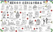English Worksheet: CRHISTMAS PICTIONARY