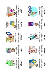 English Worksheet: Read! Spell! Do! playing cards (another 30 cards) Adverbs and Adjectives 3