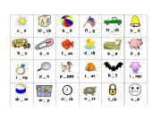 English Worksheet: Frog Hop cards page 1