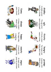 English Worksheet: Read! Spell! Do! playing cards (an extra 30 cards) Adverbs and Adjectives 5