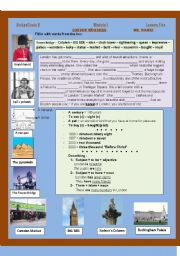 English Worksheets: London Wonders