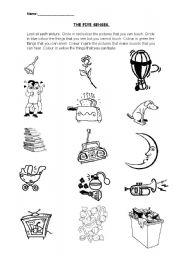 math worksheet : five senses printable worksheets for kindergarten  worksheets for  : 5 Senses Kindergarten Worksheets