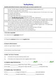 English Worksheet: Reading Activity extract from the book Dr Jekyll and Mr Hyde
