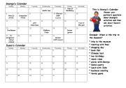 English Worksheet: Saying the dates