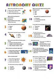 astronomy quizz