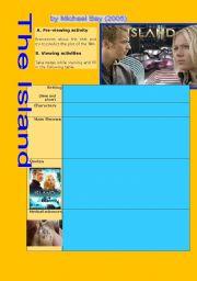 English Worksheets: MOVIE: The Island