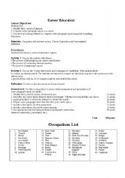 Printables Career Worksheet career exploration worksheet plustheapp this is a lesson in which students explore a