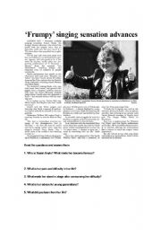 English Worksheets: Susan Boyle