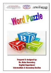 English Worksheet: Brain Teaser