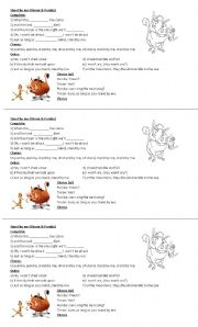 English Worksheets: Stand by me (Timon & Pumba)