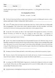 English Worksheet: reading comprehension_About Fitness