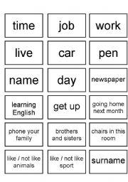 English Worksheets: QUESTION WORDS PRACTICE