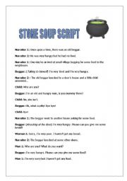 Stone soup theatre play