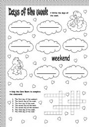 days of the week   ESL worksheet by soledad grosso moreover 108 FREE Months Days of The Week Worksheets additionally ESL Kids Worksheets Days of the Week Worksheets together with Spring into Spelling  Days of the Week   Worksheet   Education besides Teaching Months Of The Year Worksheets Days Week Cut And Paste also DAYS OF THE WEEK worksheet further Teaching Days Of the Week and Months Year Worksheets Best Of Months additionally Days of the Week Worksheets 1ª Eval    Kinder   Worksheets  English furthermore worksheets days of the week – balaicza moreover ESL Kids Worksheets Days of the Week Worksheets additionally  further  furthermore Day Of The Week Worksheets Free – cycconteudo co furthermore Spanish   Days of the Week by lwalsh75   Teaching Resources   Tes moreover DAYS OF THE WEEK   ESL worksheet by lucak  F likewise . on worksheet days of the week