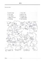 English Worksheets: Pets 2