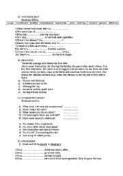 English Worksheets: mix-up exercises
