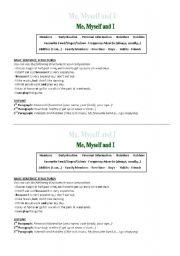English Worksheets: Elemenary writing