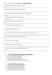 English worksheet: CAUSATIVE HAVE
