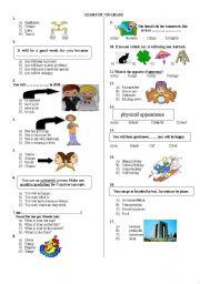 7TH GRADE EXAM PAGE 1