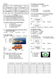 7TH GRADE EXAM PAGE 2