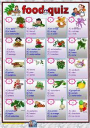 Wild image in food trivia questions and answers printable