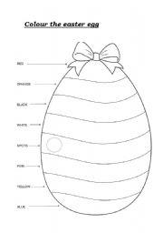English Worksheet: The Easter Egg