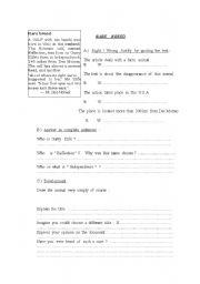 English Worksheets: Rare breed