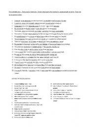 English Worksheets: error identification
