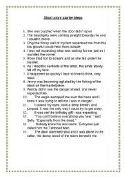 short stories worksheets