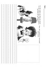 English Worksheets: Making Predictions with Amelia Bedelia