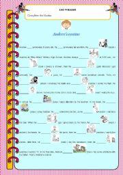 English Worksheets: Action Verbs