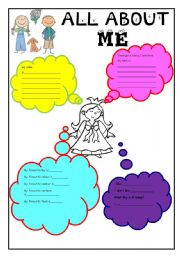 all about me for girls